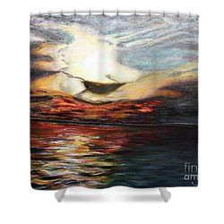 What Dreams May Come.. Shower Curtain