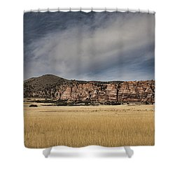 Shower Curtain featuring the photograph Wheatfield Zion National Park by Hugh Smith