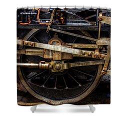 Wheel Shower Curtain by Gert Lavsen
