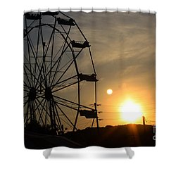 Where Has Summer Gone Shower Curtain