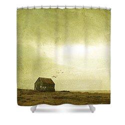 Whimsical Reykjavik Shower Curtain