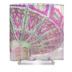 Shower Curtain featuring the photograph Whimsy Swing by Traci Cottingham