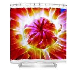 Shower Curtain featuring the photograph Whirling by Judi Bagwell
