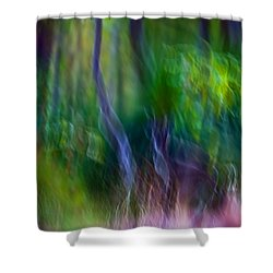 Whispers On The Wind Shower Curtain
