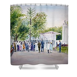 White City Shower Curtain