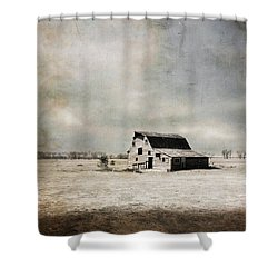 Wide Open Spaces Shower Curtain by Julie Hamilton