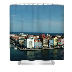 Willemstad Curacao Shower Curtain