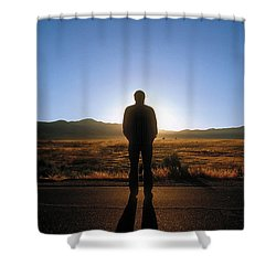 William Flocken Shower Curtain