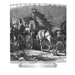 William Morgan (1774-1826) Shower Curtain by Granger