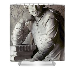 William Shakespeare Shower Curtain by Granger