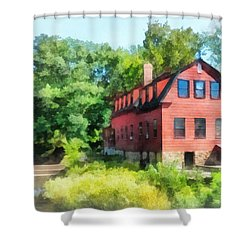 Williams-droescher  Mill Shower Curtain by Susan Savad