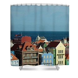 Williemstad Curacoa Shower Curtain