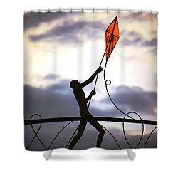 Winchester Kite Shower Curtain