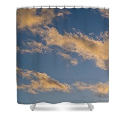 Wind Driven Clouds Shower Curtain by Mick Anderson
