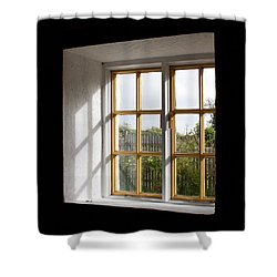 Window  Shower Curtain by Semmick Photo