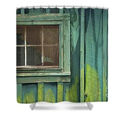 Window To The Past - D007898 Shower Curtain by Daniel Dempster