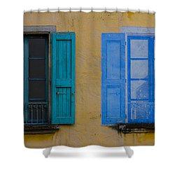 Windows Shower Curtain by Debra and Dave Vanderlaan