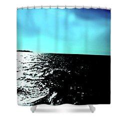 Windsurfing Greece Shower Curtain