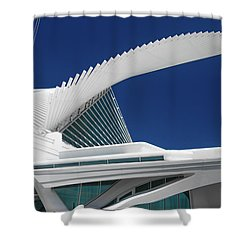 Wings Wide Open Shower Curtain