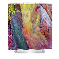 Shower Curtain featuring the digital art Winning Ticket by Richard Laeton