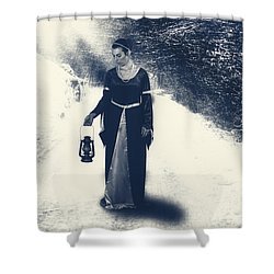 Winter Shower Curtain by Joana Kruse