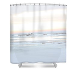 Winters Bright Light Shower Curtain