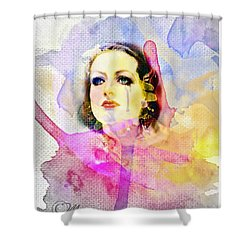 Woman's Soul Part 3 Shower Curtain by Mo T