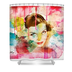 Woman's Soul Prelude Shower Curtain by Mo T