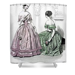 Womens Fashion, 1843 Shower Curtain by Granger