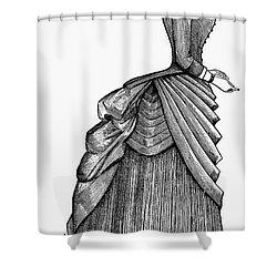 Womens Fashion, 1884 Shower Curtain by Granger