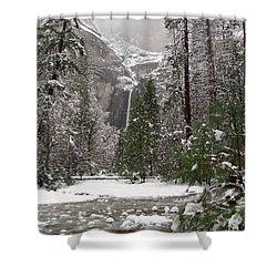 Wonderland Yosemite Shower Curtain by Heidi Smith