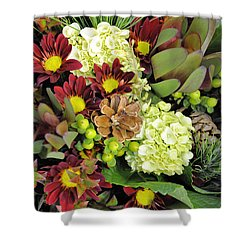 Woodland Glory Shower Curtain by Jan Amiss Photography