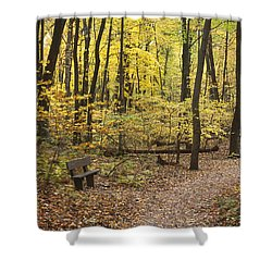 Woodland Respite Shower Curtain
