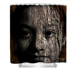 Woodland Spirit Shower Curtain by Christopher Gaston