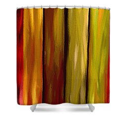 Woodlands Shower Curtain by Ely Arsha