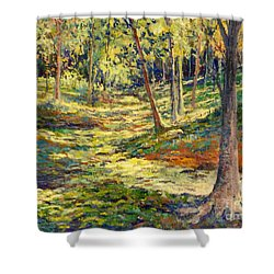 Woods In Ohio Shower Curtain