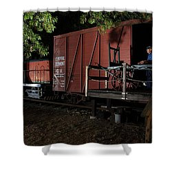 Working On The Railroad 2 Shower Curtain