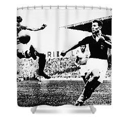 World Cup, 1938 Shower Curtain by Granger