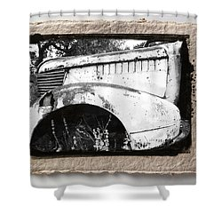 Wreck 2 Shower Curtain by Mauro Celotti