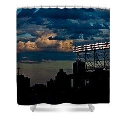 Wrigley Field Light Stand Shower Curtain