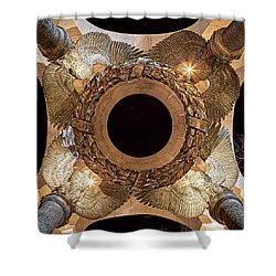 Ww II Memorial Victory Wreath Shower Curtain