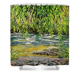 Yakima River Shower Curtain