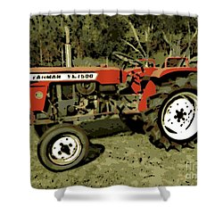 Yanmar Shower Curtain by George Pedro
