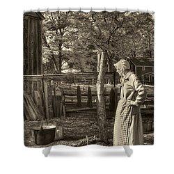 Yarn Dyeing Shower Curtain by Joann Vitali