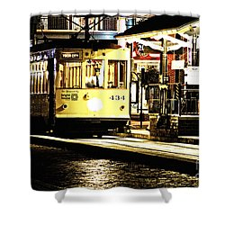 Ybor Train Shower Curtain