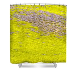 Yellow Fields Shower Curtain by Guido Montanes Castillo