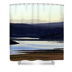 Yellowstone Landscapes Shower Curtain