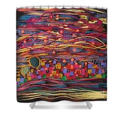 Yiskor Shower Curtain by Heather Hennick