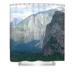 Yosemite Bridalveil Fall Shower Curtain
