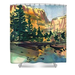 Yosemite Valley In January Shower Curtain